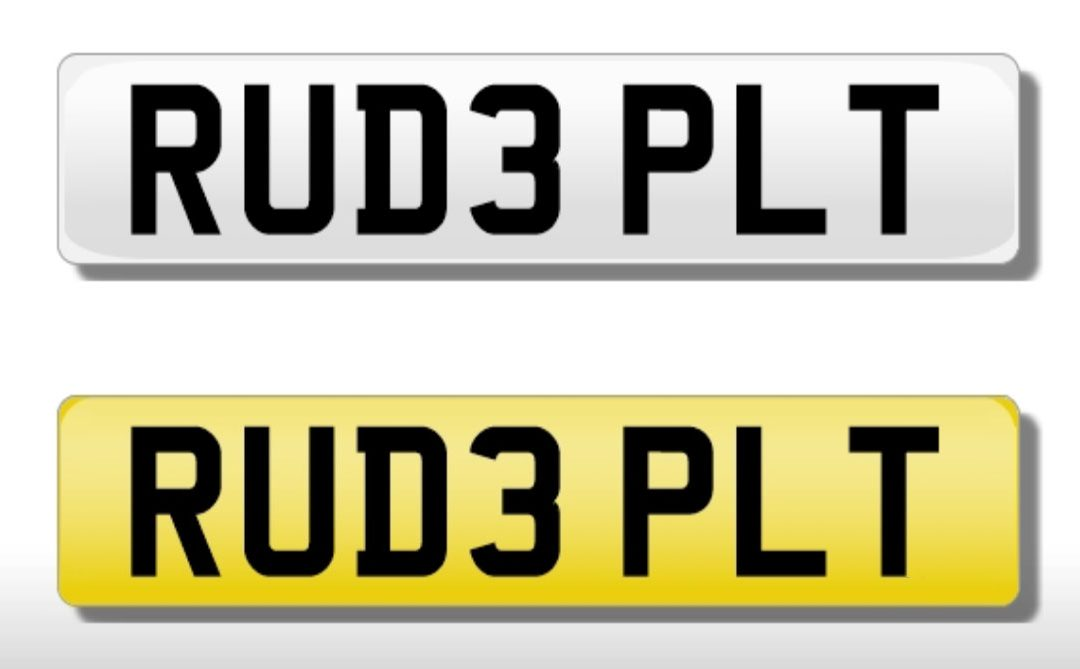 Green light for cheeky number plates